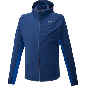 Mizuno Hybrid BT Hoodie Men estate blue